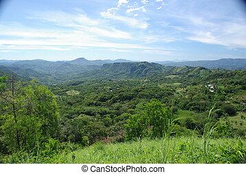 paisaje, en, honduras