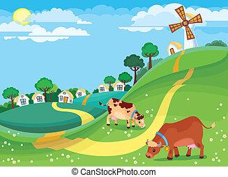 paisaje rural