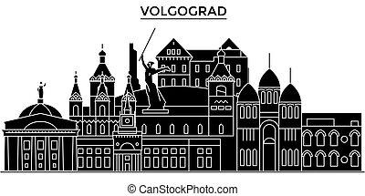 paisaje urbano, edificios, golpes, editable, casas, señales,...