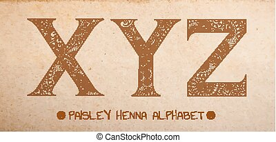 Paisley ABC