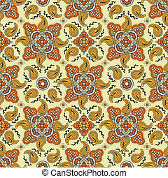 paisley, muster