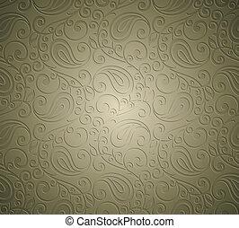 Paisley royal seamless wallpaper