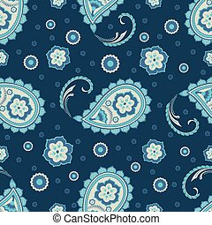 paisley, seamless, ornament2