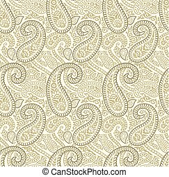 Paisley seamless vector pattern