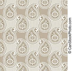 Paisley seamless wallpaper - Paisley seamless luxurious...