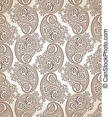 Paisley vector wallpaper