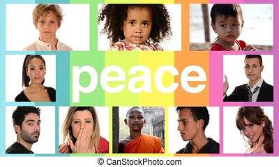 paix, gens