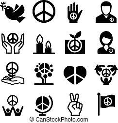 paix, icône