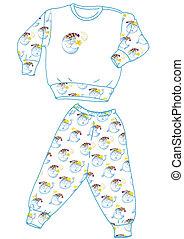 pajamas, good night - pajamas