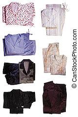 Pajamas - Seven pairs of pajamas