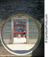 pak, tai, temple., cheung, chau., hong, kong.