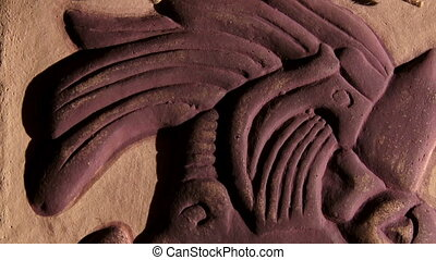 Pakal Votan, tilt down. Maya civilization