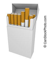 paket, zigaretten