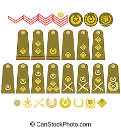 Pakistan Army insignia - Epaulets, military ranks and ...