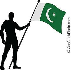 Pakistan Flag Bearer