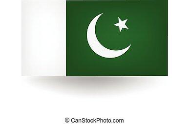Pakistan Flag - Official flag of Pakistan.