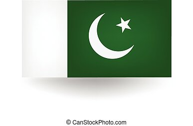 Pakistan Flag - Official flag of Pakistan.