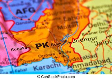 Pakistan on the Map