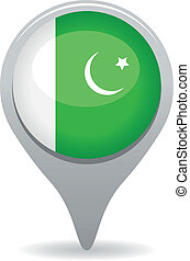 pakistani flag pointer