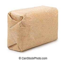 pakpapier, oud, verpakken