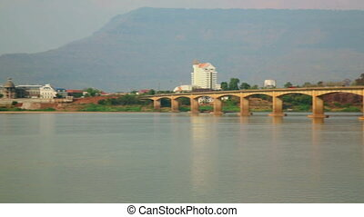 Pakse Bridge, Laos