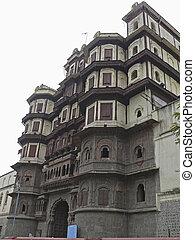 palác, indie, madhya, pradesh, holkar's, (king, indore, indore, palace)