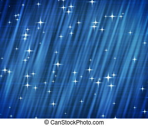 PAL. Stars on blue background.
