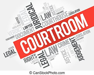 palabra, courtroom, nube