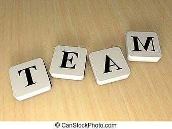 palabra, equipo