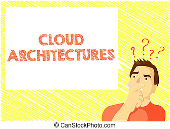palabra, escritura, texto, nube, architectures., concepto de la corporación mercantil, para, vario, dirigido, bases de datos, softwares, aplicaciones