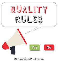 palabra, escritura, texto, regulaciones, rules., concepto de la corporación mercantil, para, estándar, declaración, procedimiento, gobernar, al control, un, conducta