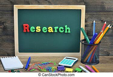 palabra, investigación