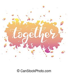 palabra, juntos