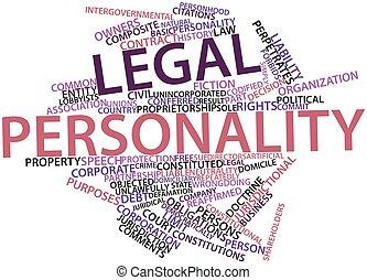 palabra,  legal, nube, personalidad