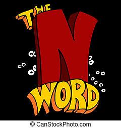 palabra, n