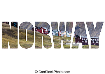 palabra, Noruega, encima,  spitsbergen,  natural, mundo
