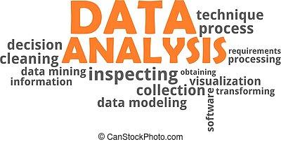palabra,  -, nube, análisis, datos