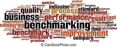palabra, nube, benchmarking