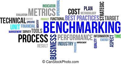 palabra,  -, nube,  benchmarking
