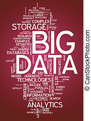 "palabra, nube, ""big, data"""
