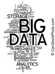 "palabra, nube, ""big, data"""