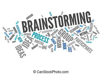 """palabra, nube, """"brainstorming"""""""