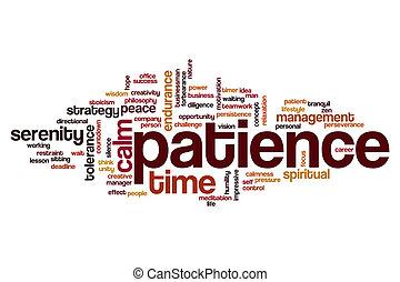 palabra, nube, paciencia