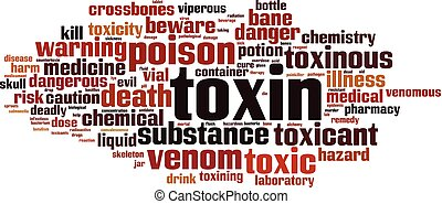 palabra, toxina, nube
