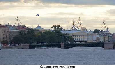 Palace Bridge and Admiralty Shipyard