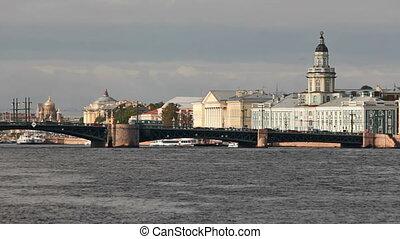Palace Bridge and Kunstkamera