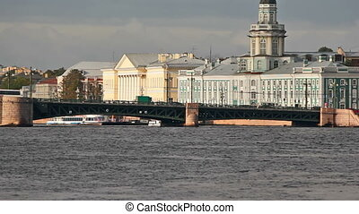 Palace Bridge and quay of Arrow Basil Island