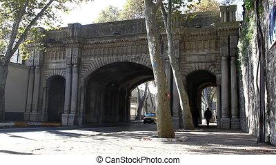 palace bridge traffic HD 1080p