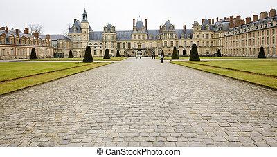 Palace Fontainebleau, France - Palace Fontainebleau,...