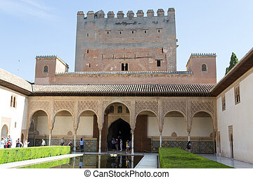 Palace in Alhambra